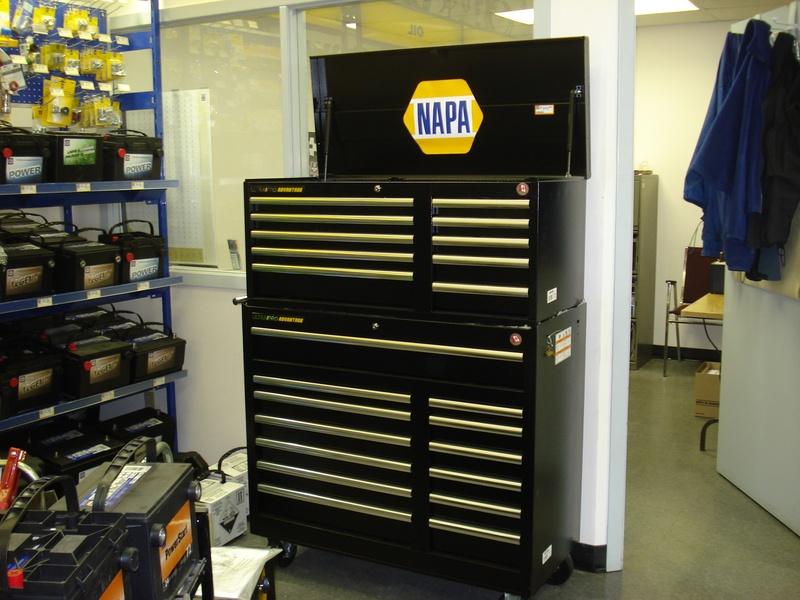 napa tool box up for grabs