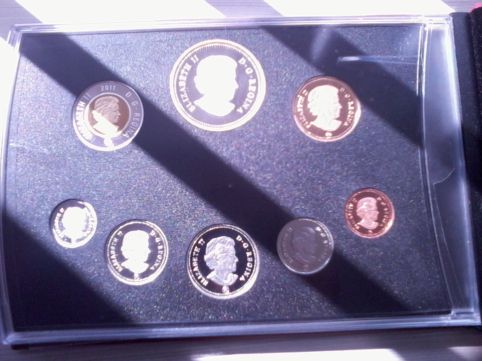 2011 - Proof Set 100th Anniversary of Parks Canada
