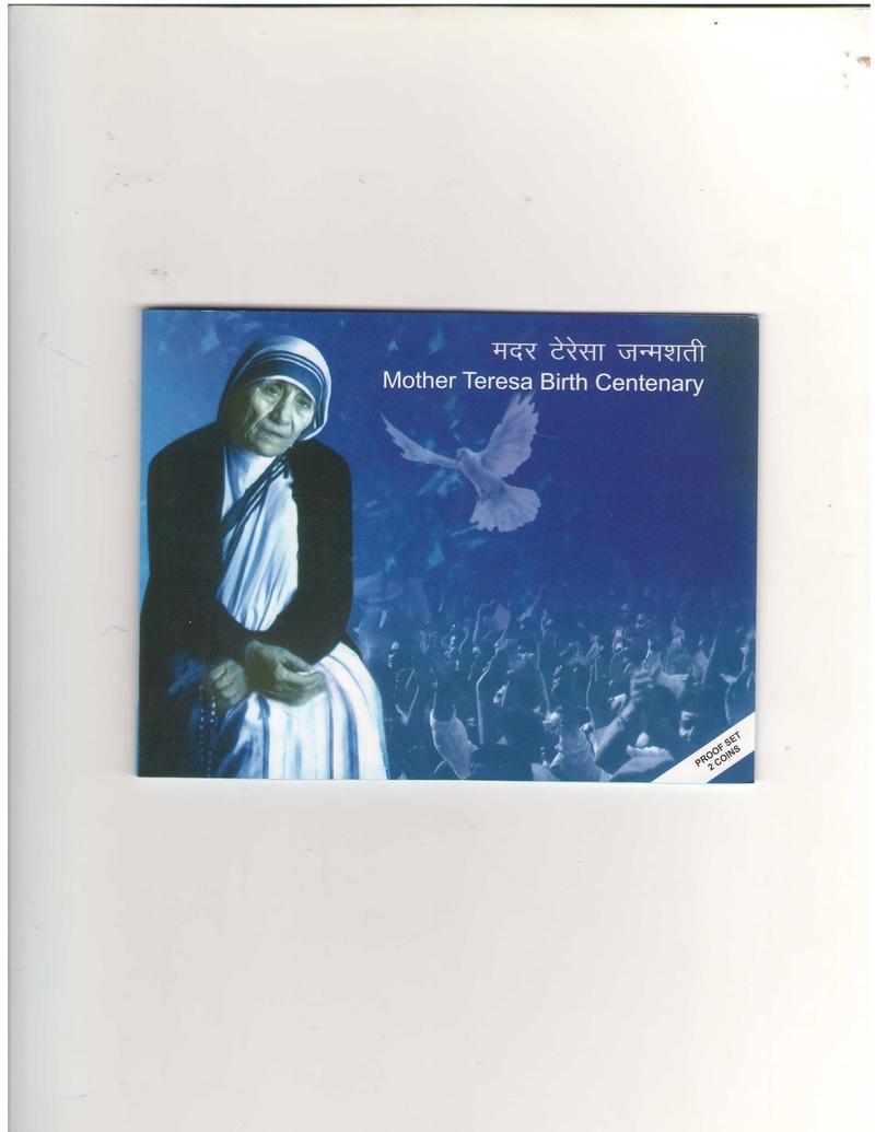 Mother Teresa Proof Set