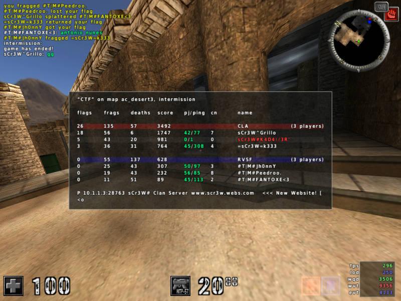 sCr3W vs #T|M#
