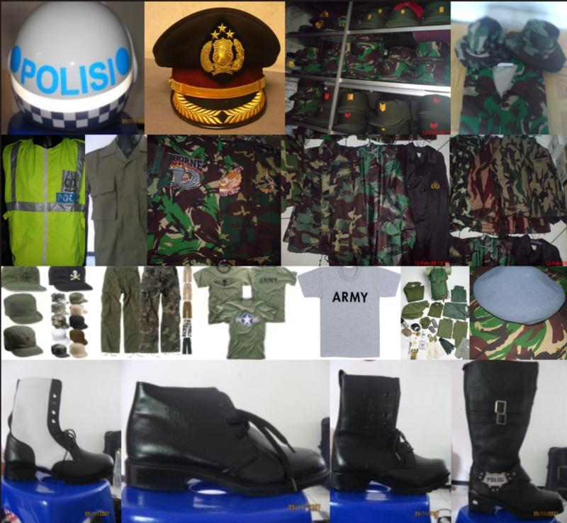 Perlengkapan TNI/POLRI