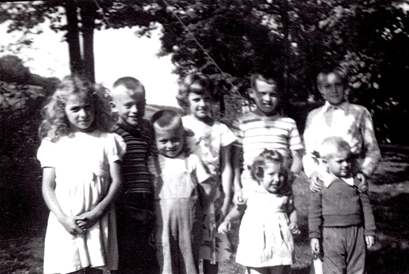 Emanuel & Catharine Norris Grandchildren, 1950