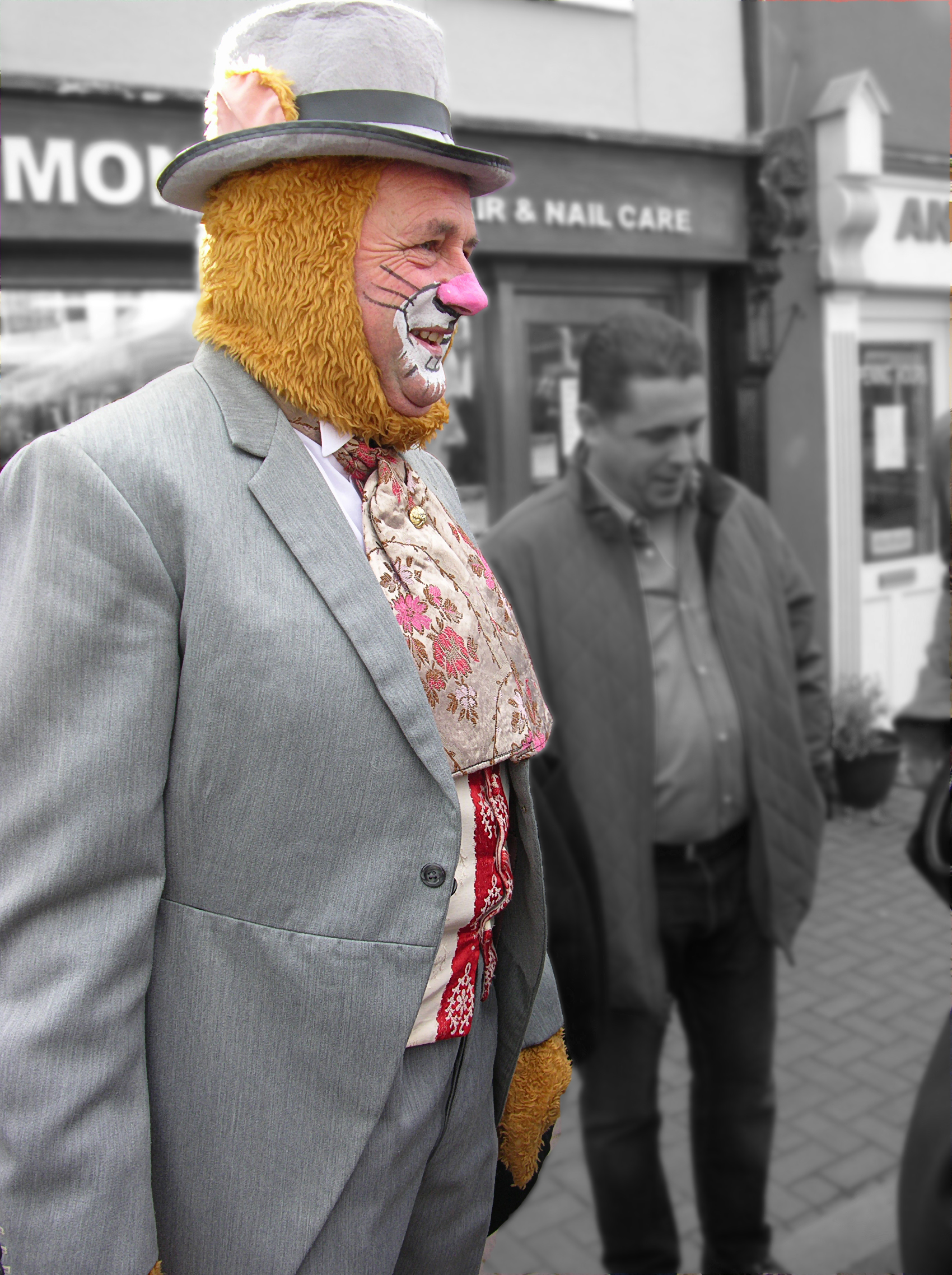 Man in Costume
