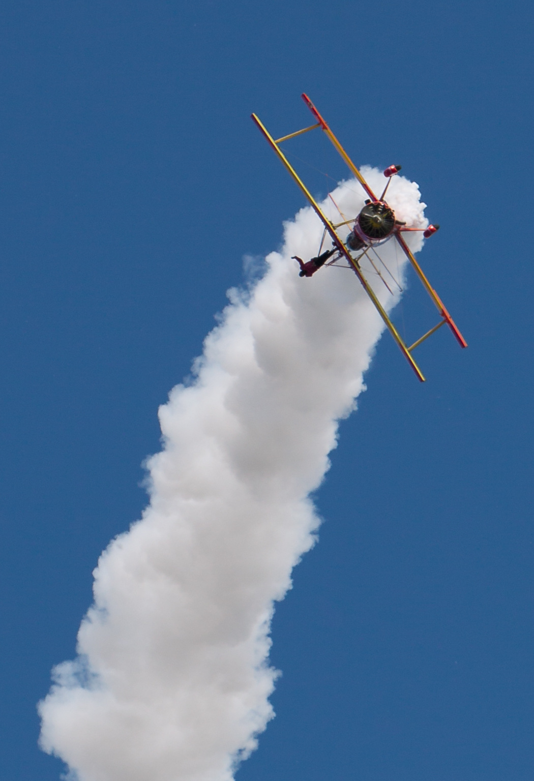 Gene Soucy at EAA AirVenture