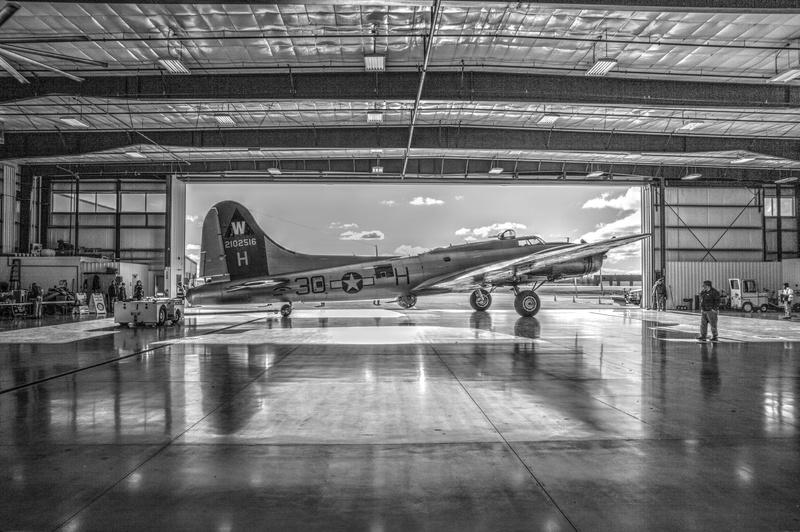EAA's Aluminum Overcast in Jet Air Hanger
