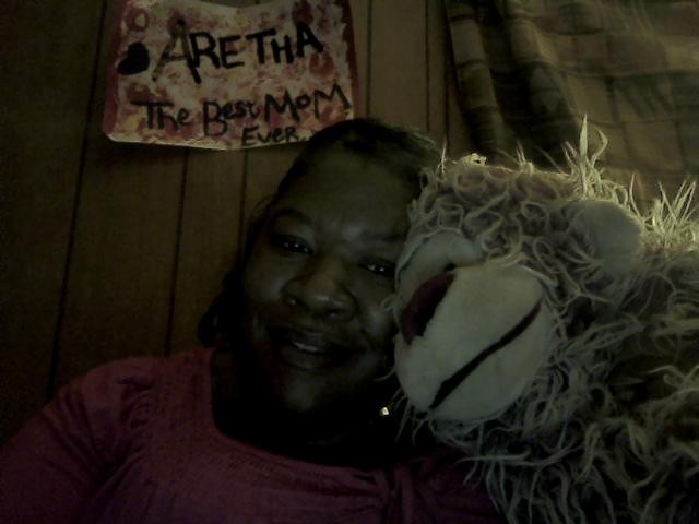 Me with my teddy