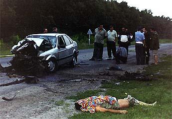 Mph Car Crash No Seat Belt