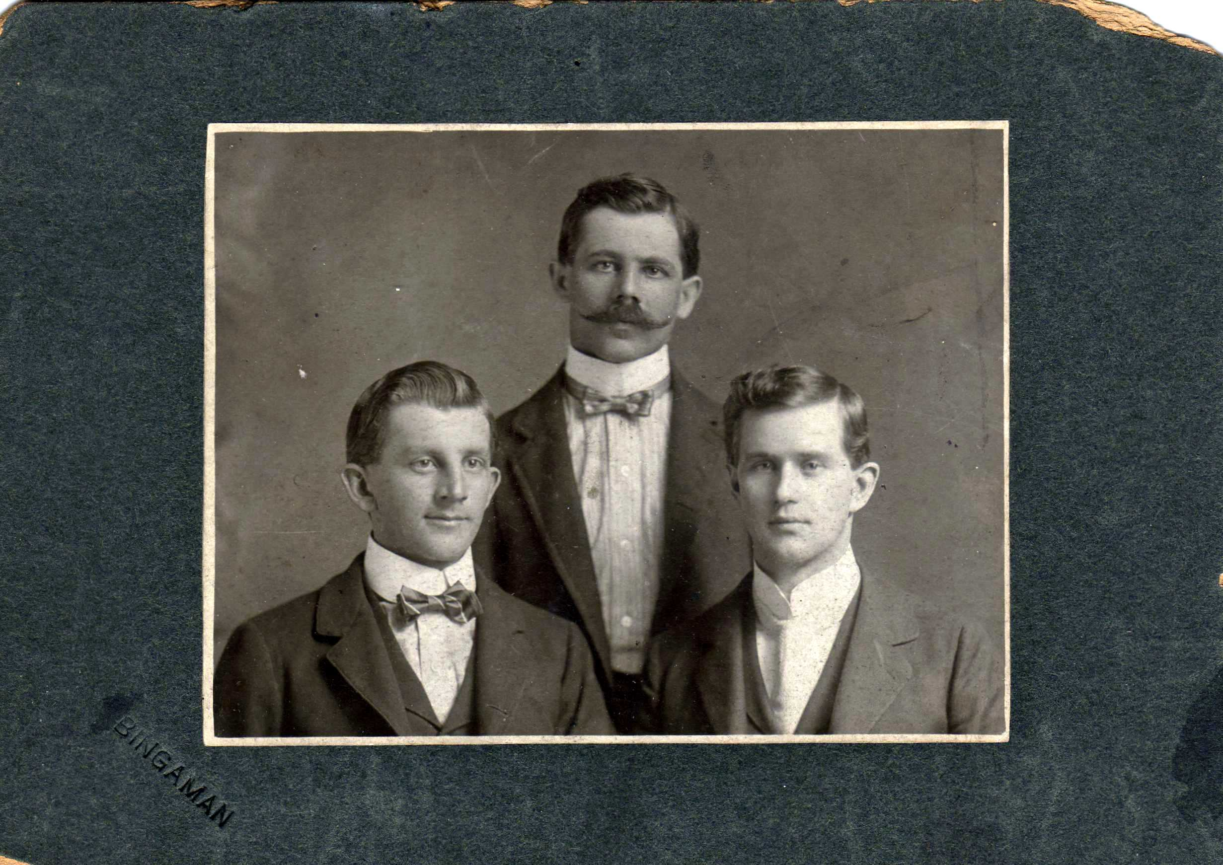 Wilday, Wilmer and Elmer Enyeart