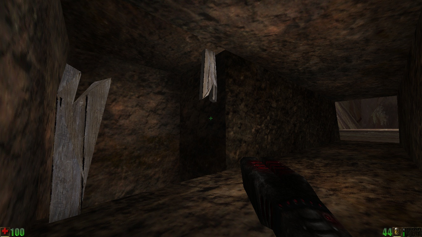 In the tunnel (Canyon Map)