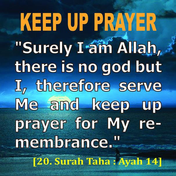 KEEP UP PRAYER