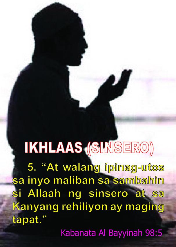 IKHLAAS (SINSERO)