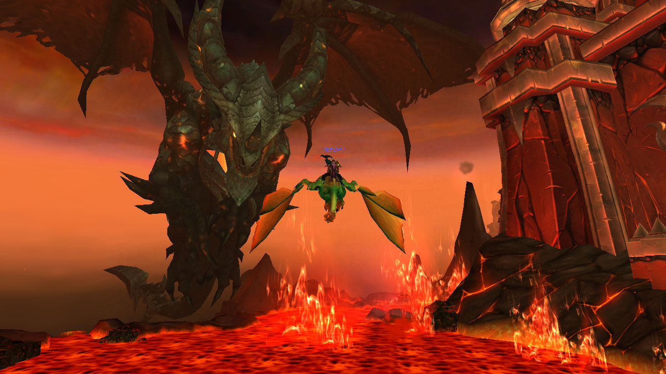 (Another shot of Deathwing)