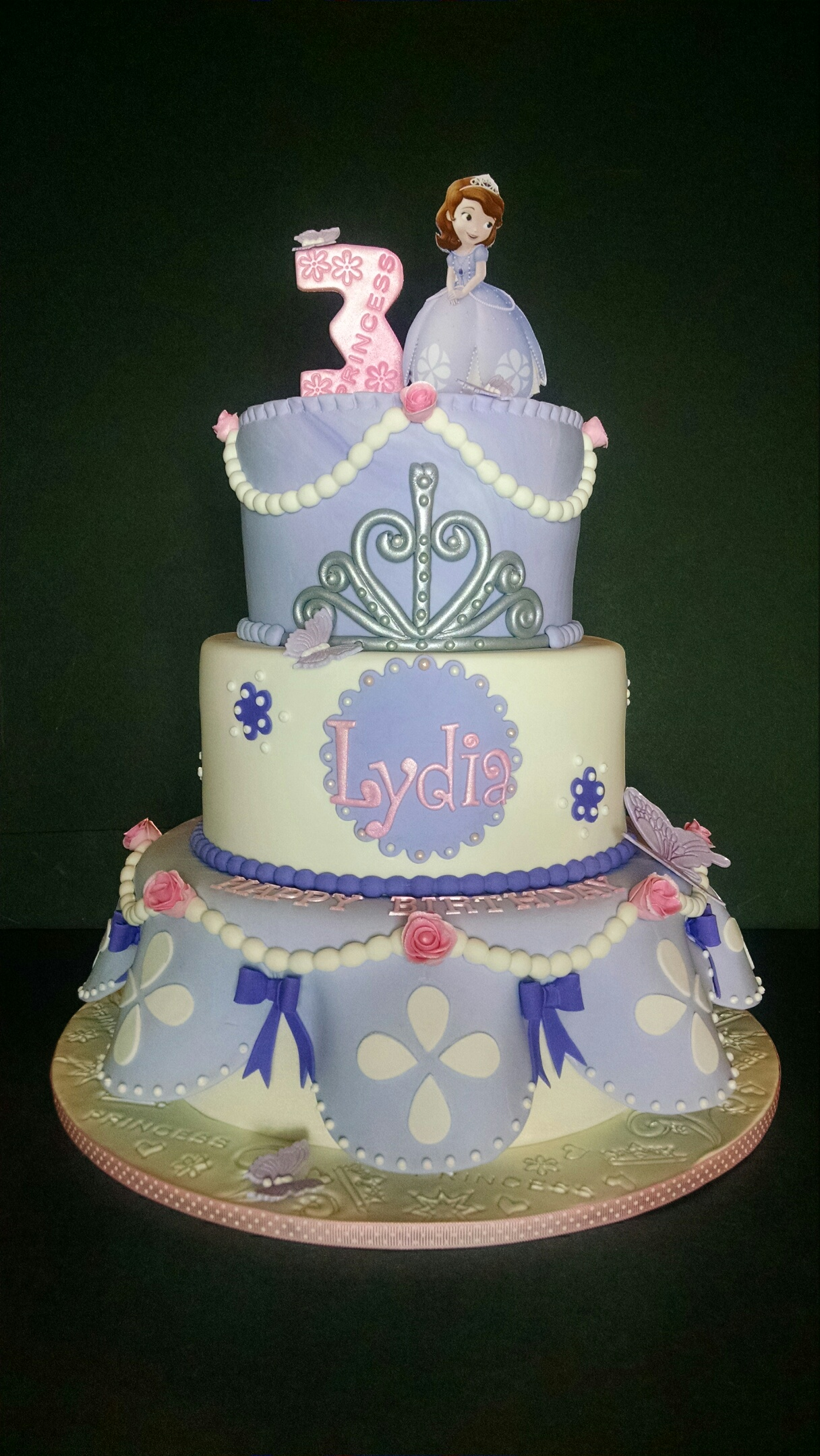 Lydia's Sofia the First Birthday