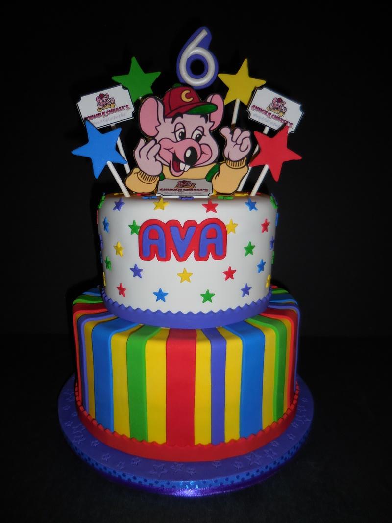 Avas Chuck E Cheese Birthday