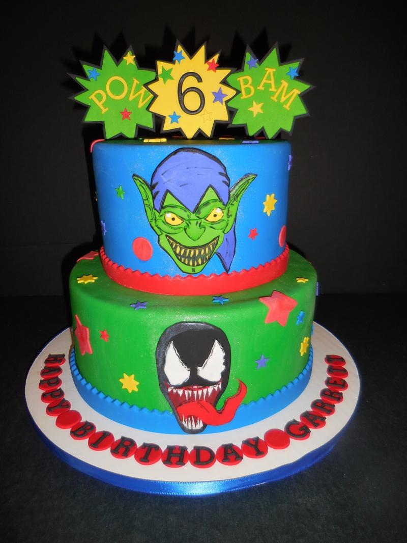 Garrett S Green Goblin Venom Birthday