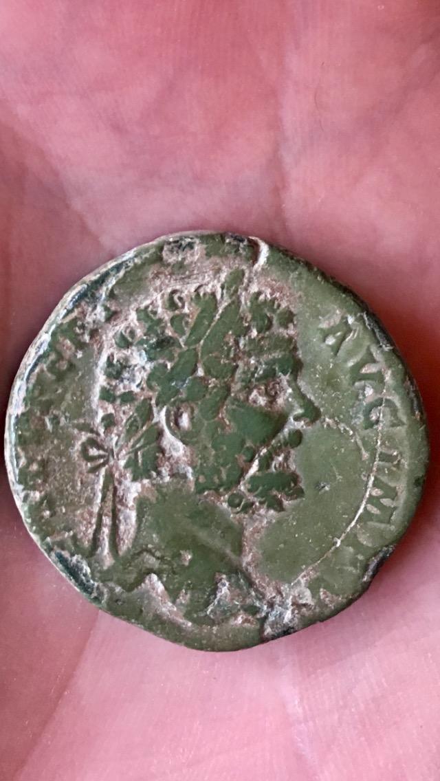 Sestertius of Septimius Severus 193-211 AD