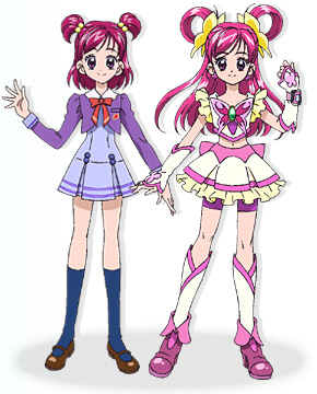 Nozomi Yumehara + Cure Dream
