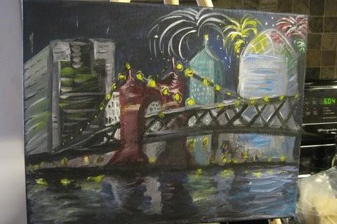Fireworks Over Cincy