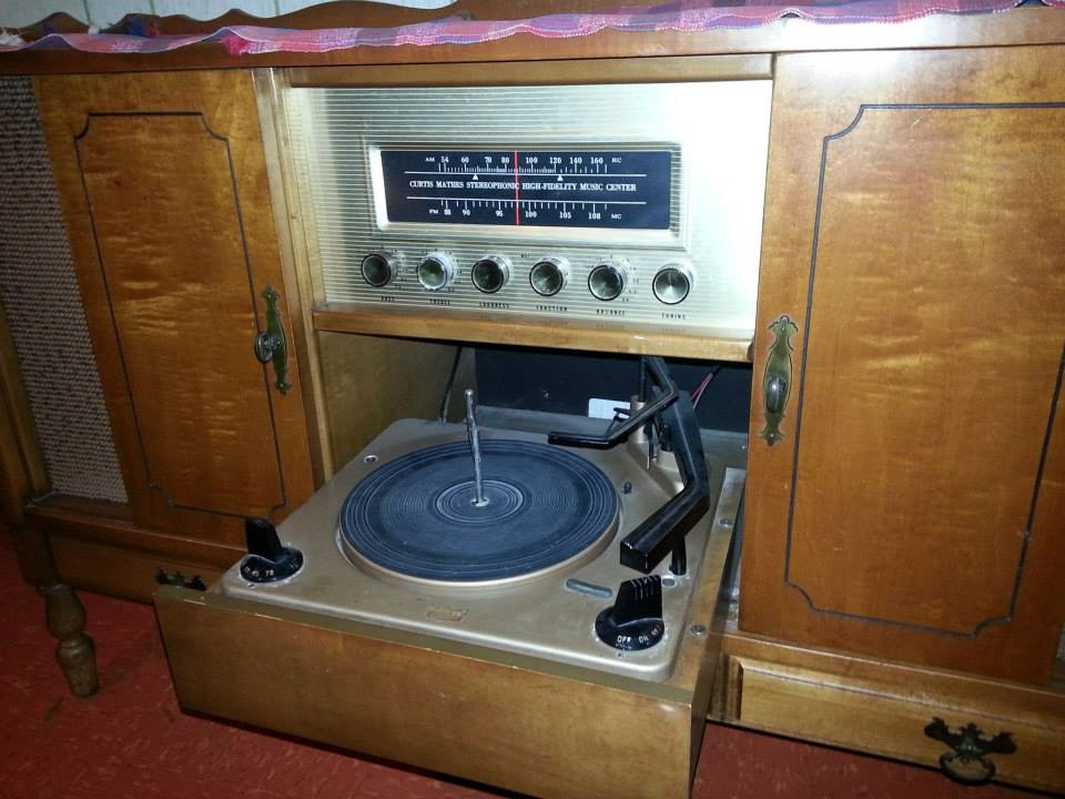 Curtis Mathes Early American Designed Stereo 1962 or 63 model.