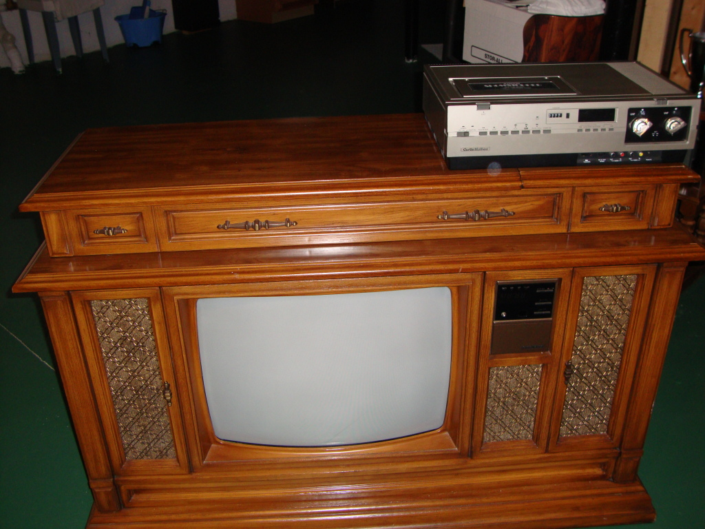 Curtis Mathes Tv Home Entertainment Center Manufactured