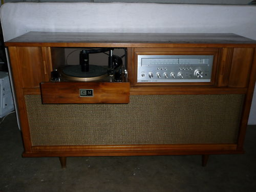 1960u0027s Curtis Mathes Stereo Cabinet