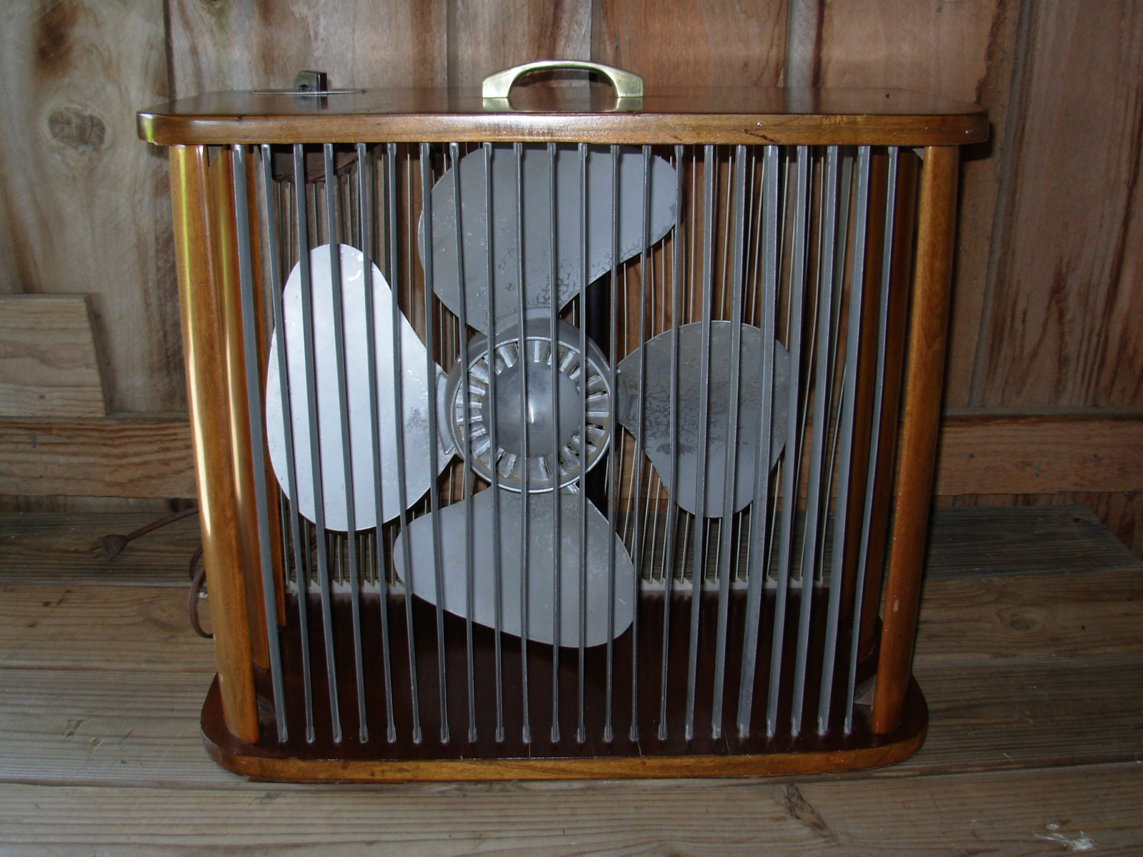 1960s Box Fan : Mathes coolers and fans