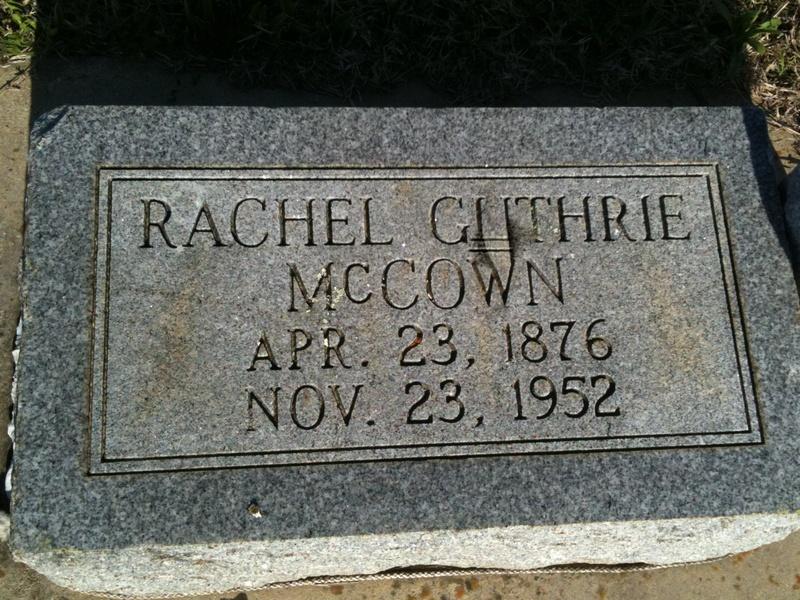 Rachel Guthrie McCown