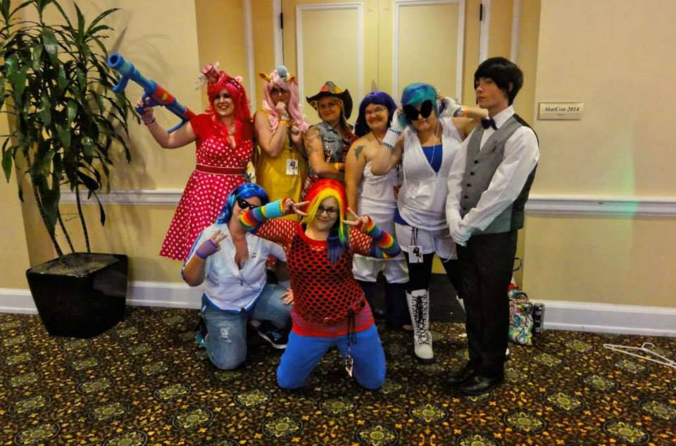 All the Bronies Together!