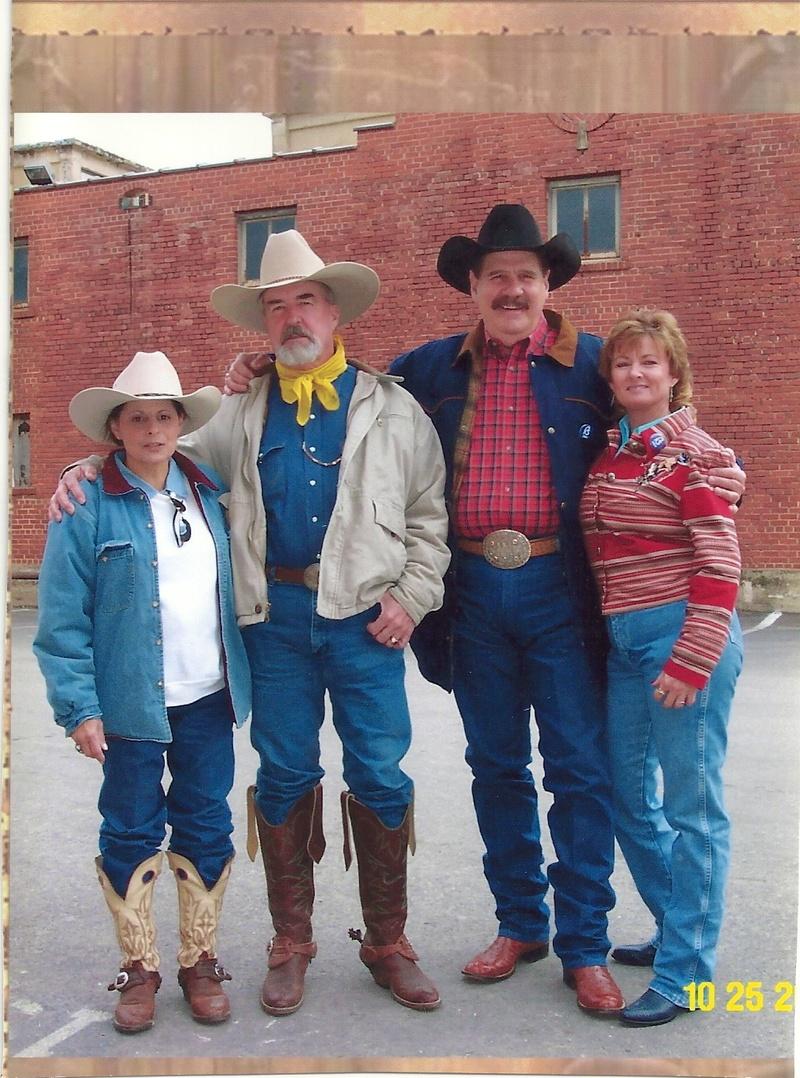 Star, Johnny Seay & Eddie Kilroy and wife Elizabeth