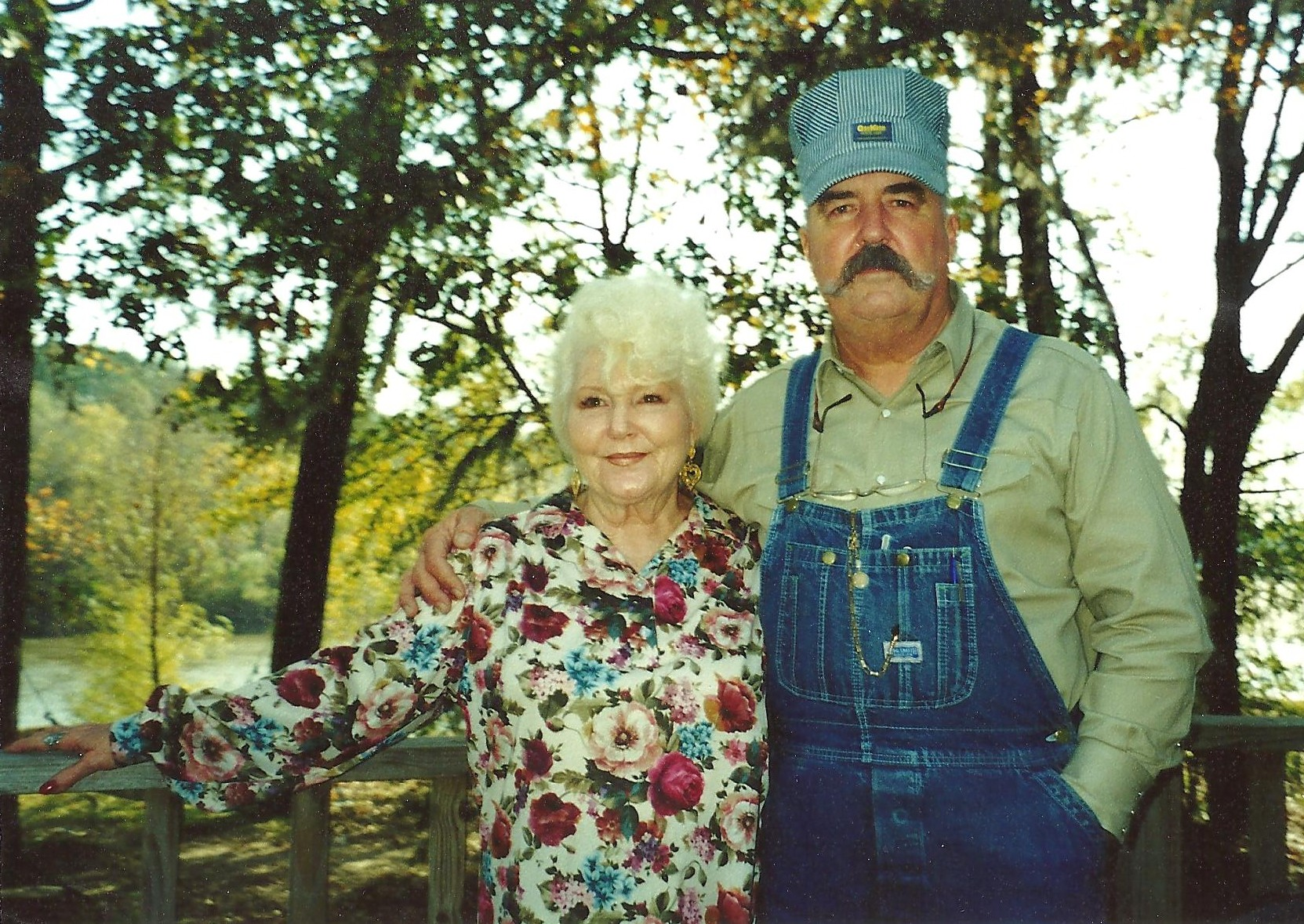 My Mother Hellen and me. This picture was made at a family reunion back when I was still railroading.