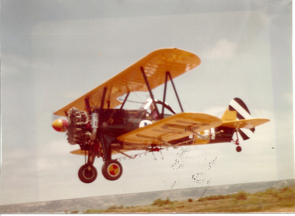 Taking off on the Miller Ranch at Justiceburg, TX. 1982.