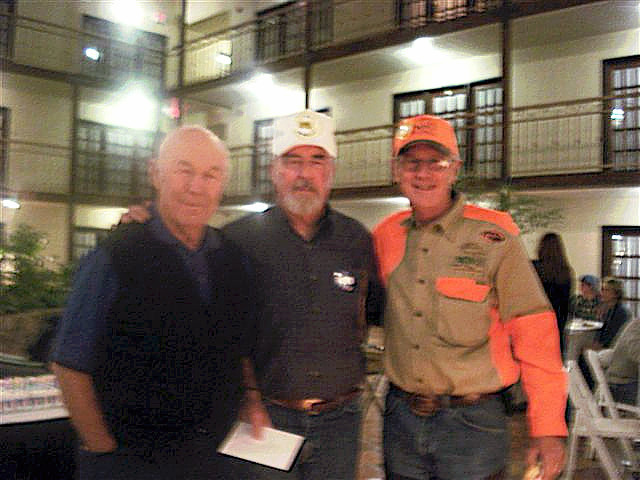 Proud to be with these two hero's. Gen. Chuck Yeager and Gen. Charles Duke