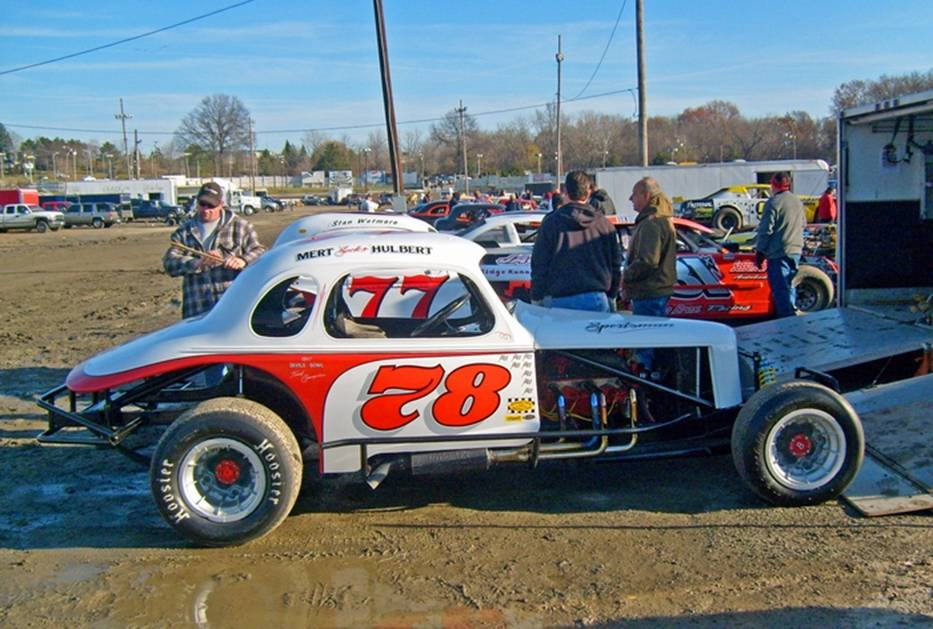 Darryl Hulbert #78 - Northeastern Vintage Dirt Modified Racing Club