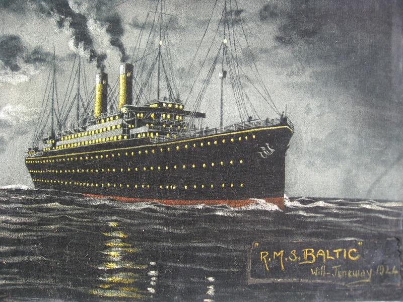RMS Baltic - 1924
