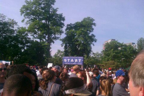 Starting Line Hunger Walk 2012