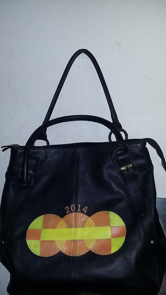 2014 leather handbag