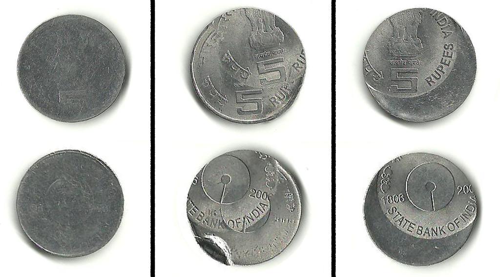 SBI Double Centenary Series Error Coins