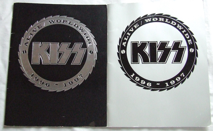 Alive/Worldwide 1996/1997 tour books