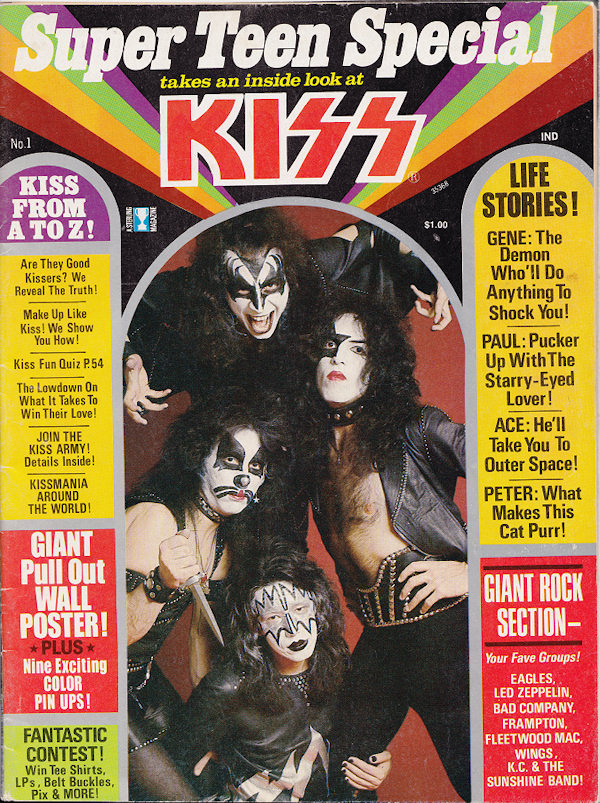 'Super Teen' KISS Special - 1976