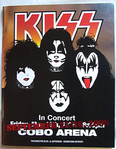 Cobo Arena 2009 tour book!