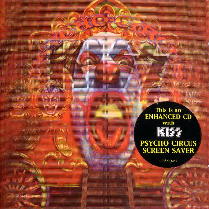 Psycho Circus - Enhanced CD