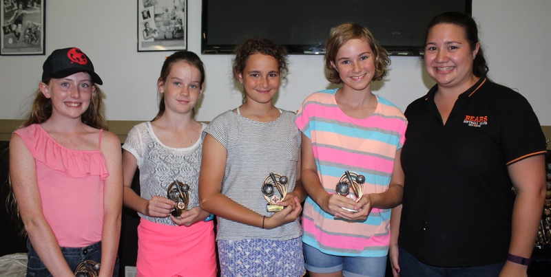 Bears Presentation Day- U13's