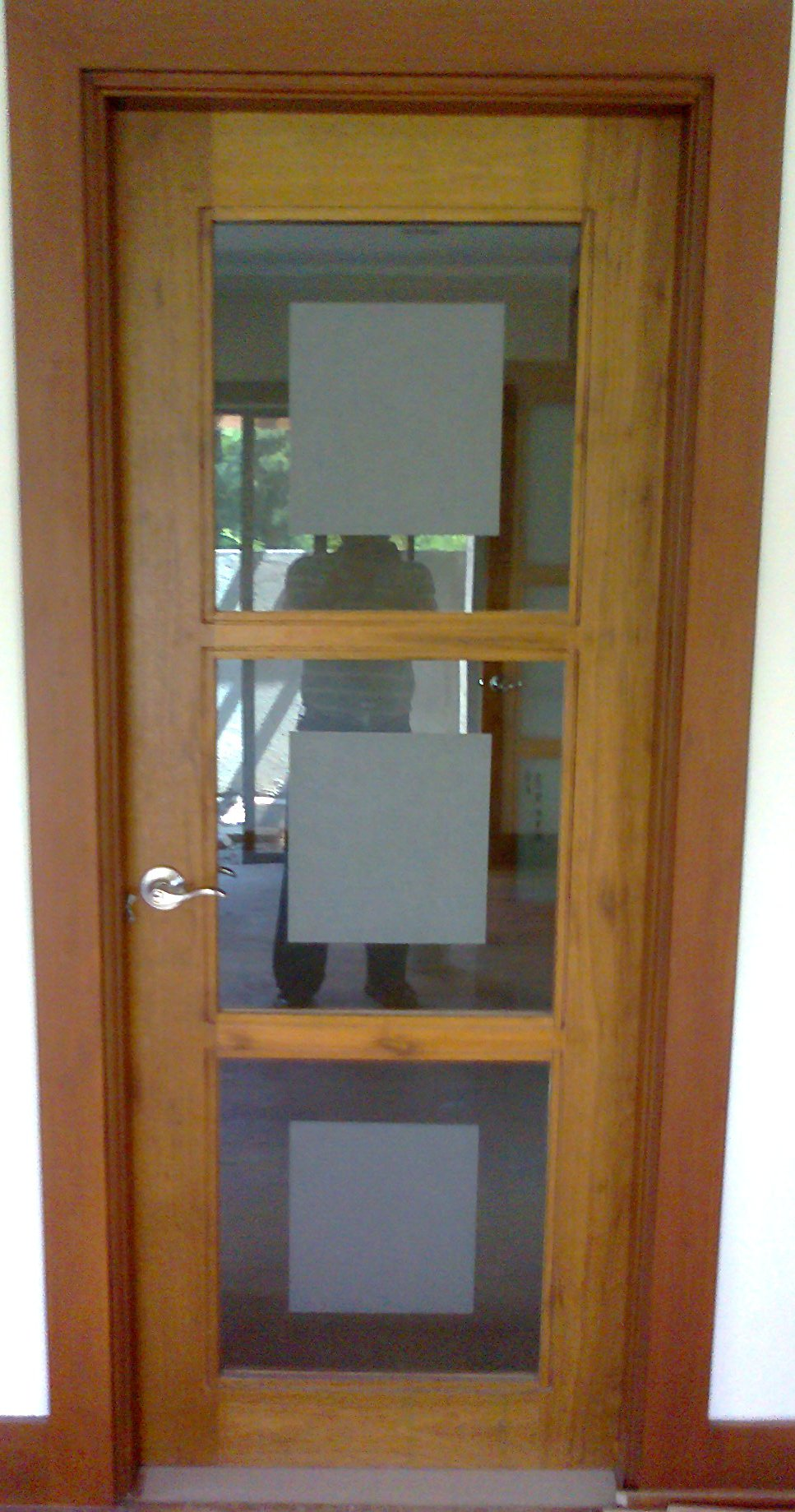 Wooden doors wooden doors glass panels for Wood door with glass