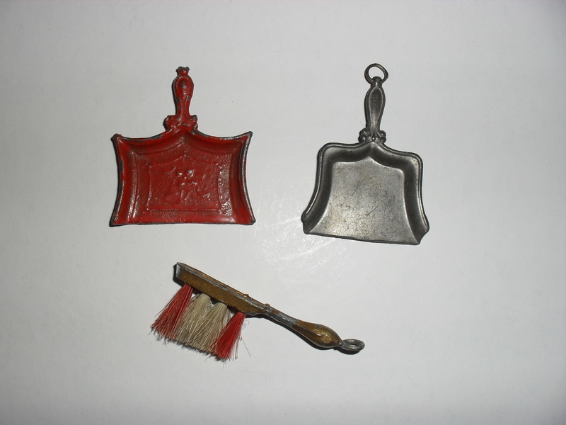 Dustpans and brush
