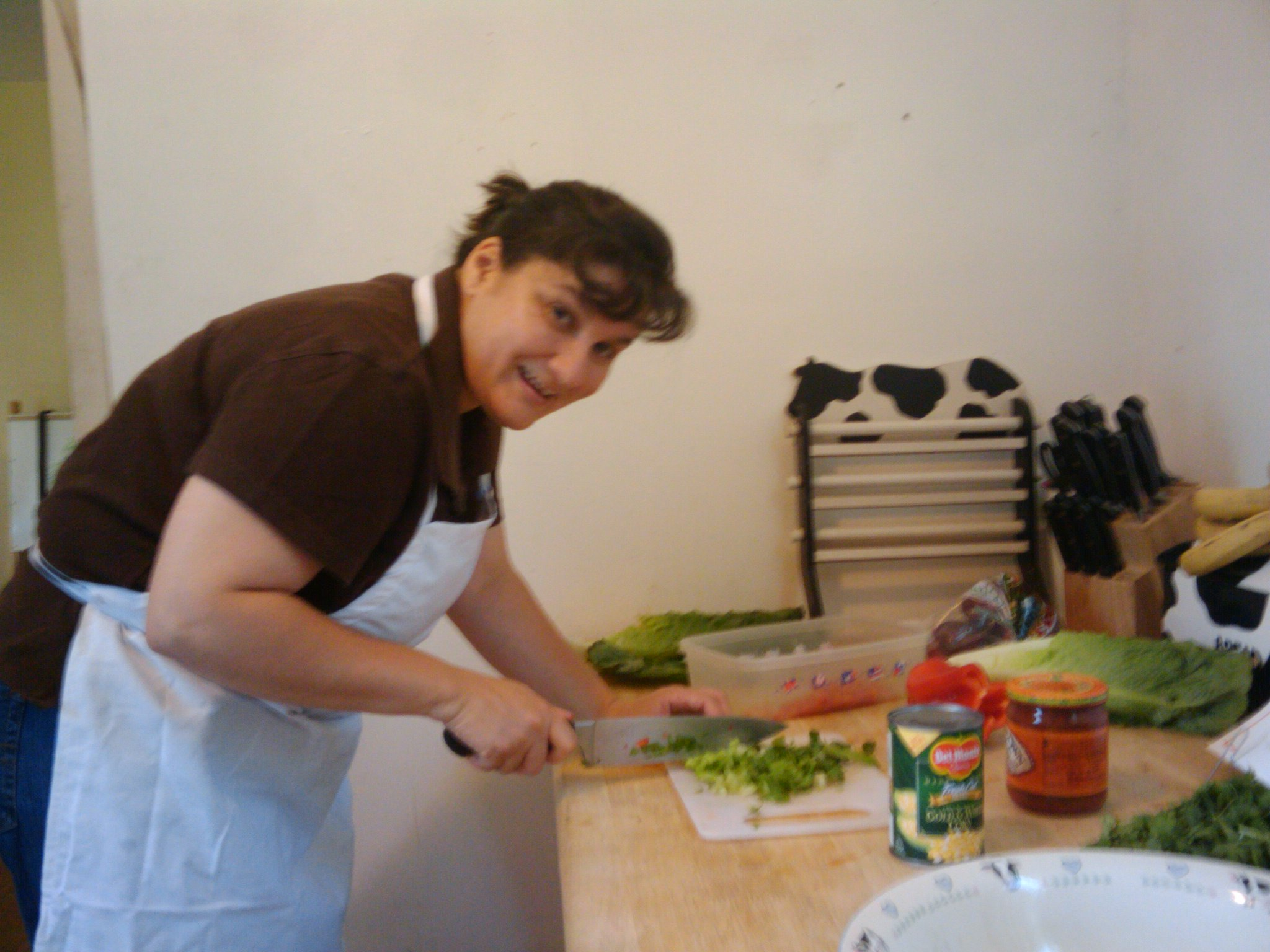 "Cook Shop for adults class at PS 81"" PARENT COOKING"