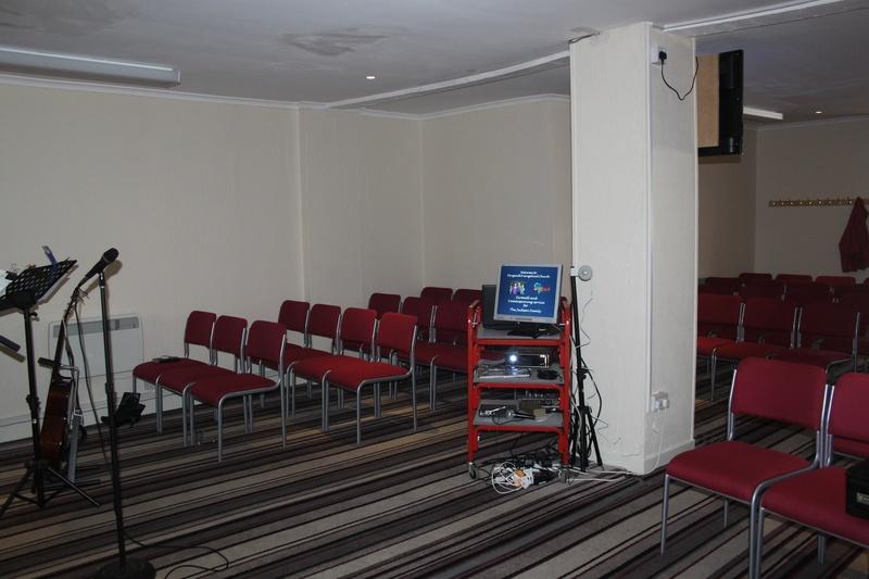 Main Hall ready for service