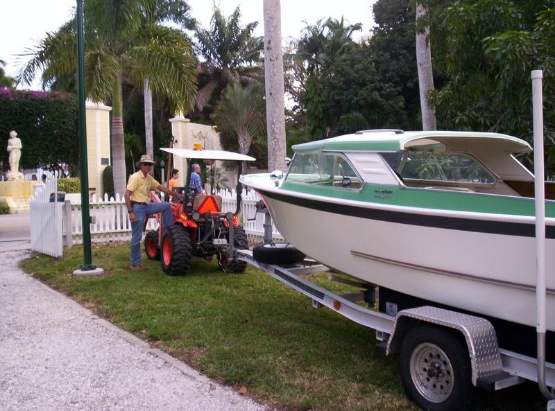 Tractor Valet parking