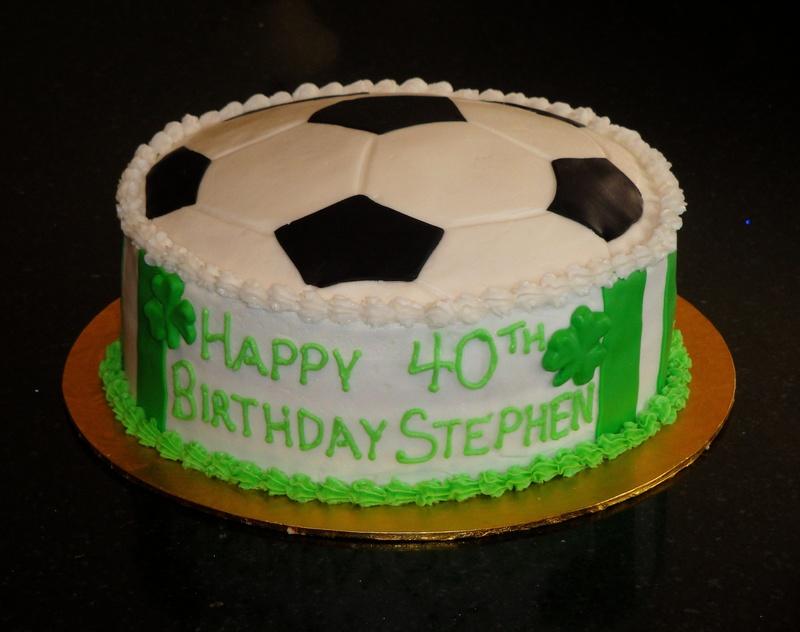 soccer birthday cake on football birthday cakes at walmart