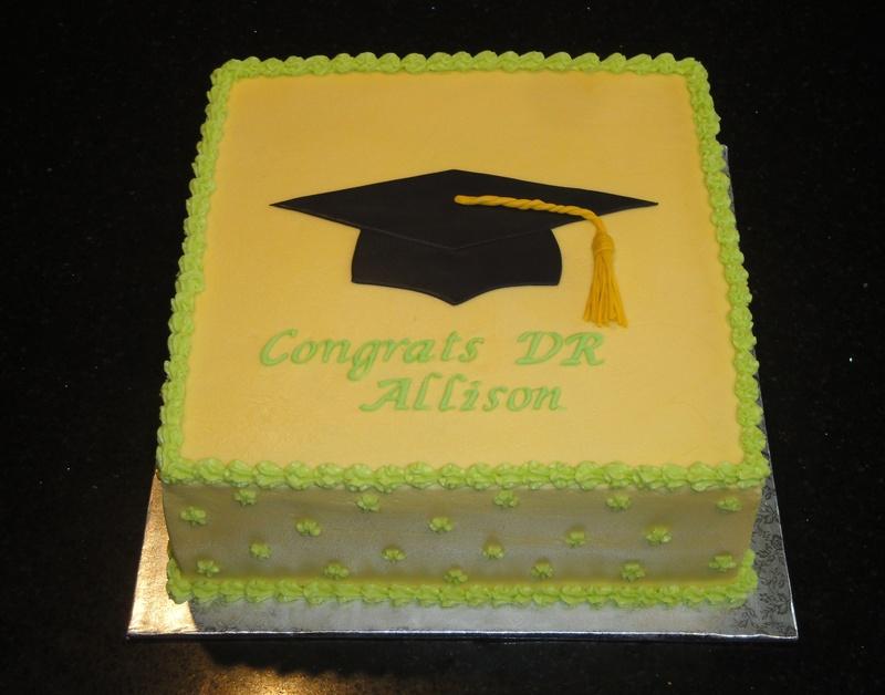 PhD Graduation Cake