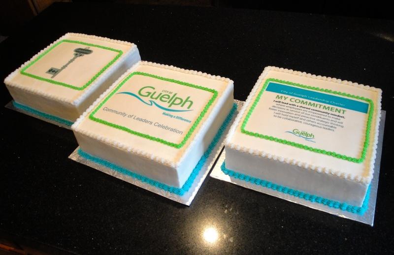 City Of Guelph Celebration Cakes